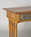 Louis C. Tiffany & Co.  Unique Center Table with Leaded Glass Panels