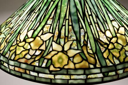 Tiffany Studios  Daffodil Table Lamp 3