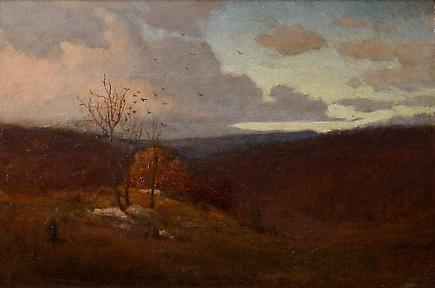 Louis C. Tiffany <br><i> The First Fall Day</i> 1
