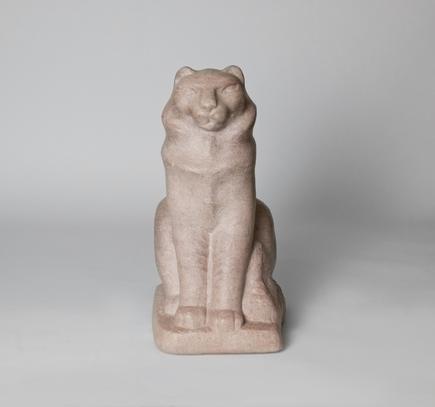 William Zorach  Seated Cat (Tooky)  2