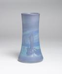 Fred Rothenbusch Scenic Vellum Harbor Vase