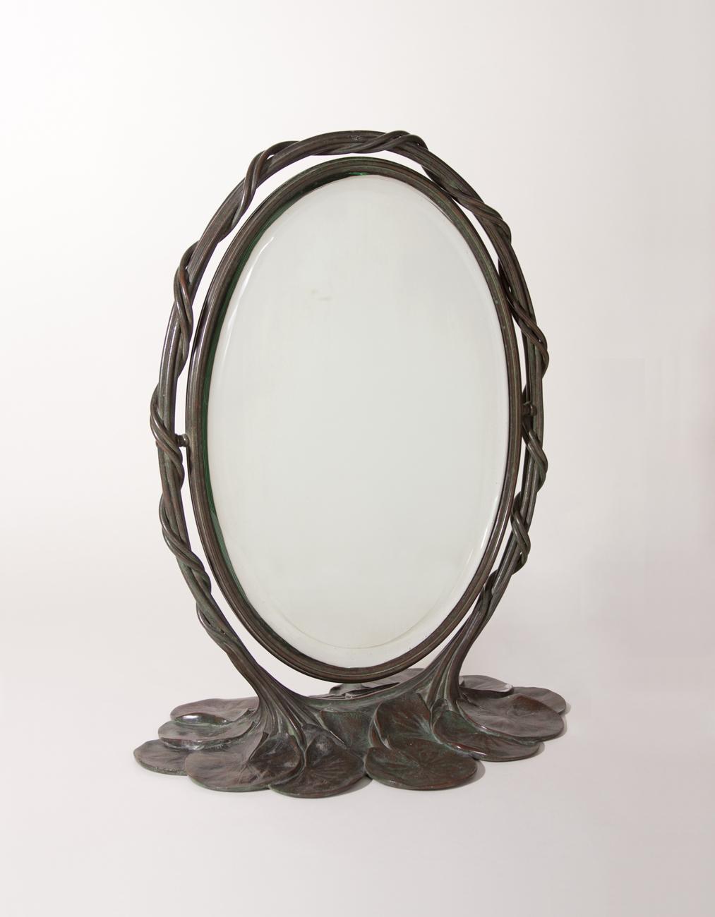 Tiffany Studios Lily Pad Mirror 1