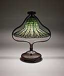 Tiffany Studios <br> Lotus Bell Lamp