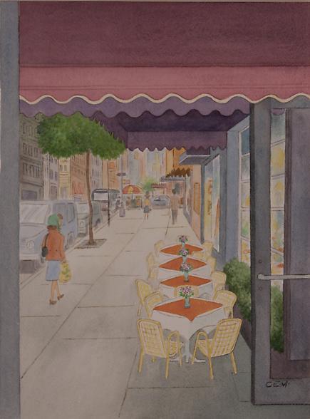 Charles E. Martin  Madison Ave Cafe 2