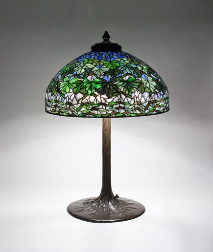 Tiffany Studios <br> Maple Leaf Table Lamp 2