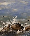 Mary Keenan for Rookwood&lt;br&gt;&lt;i&gt;Waves Crashing on Shore&lt;/i&gt;