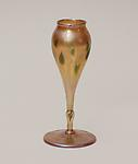 Tiffany Favrile Glass &lt;br&gt; Miniature Flower Form Vase