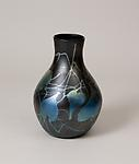 Tiffany Favrile Glass <br>Vase with Leaf Decoration