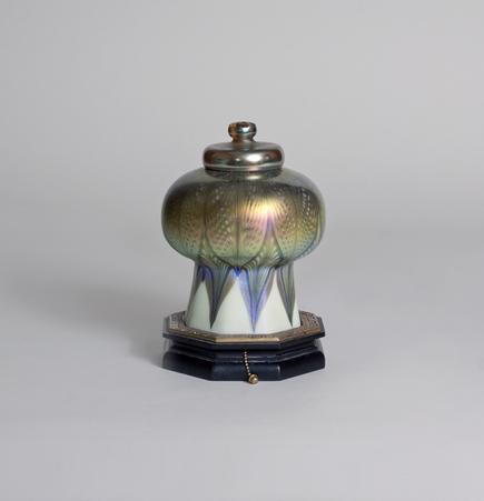"Tiffany Studios <br> ""Mosque"" Lamp 1"
