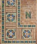 Tiffany Studios <br> Mosaic Sample Panel