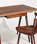 George Nakashima &lt;br&gt; Desk and Mira Chair