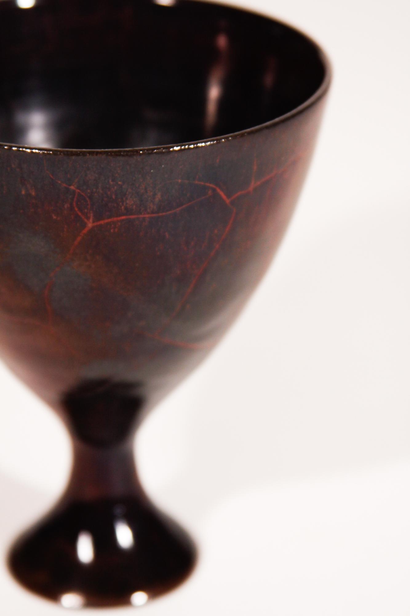 Gertrud and Otto Natzler  Ceramic Vase 3