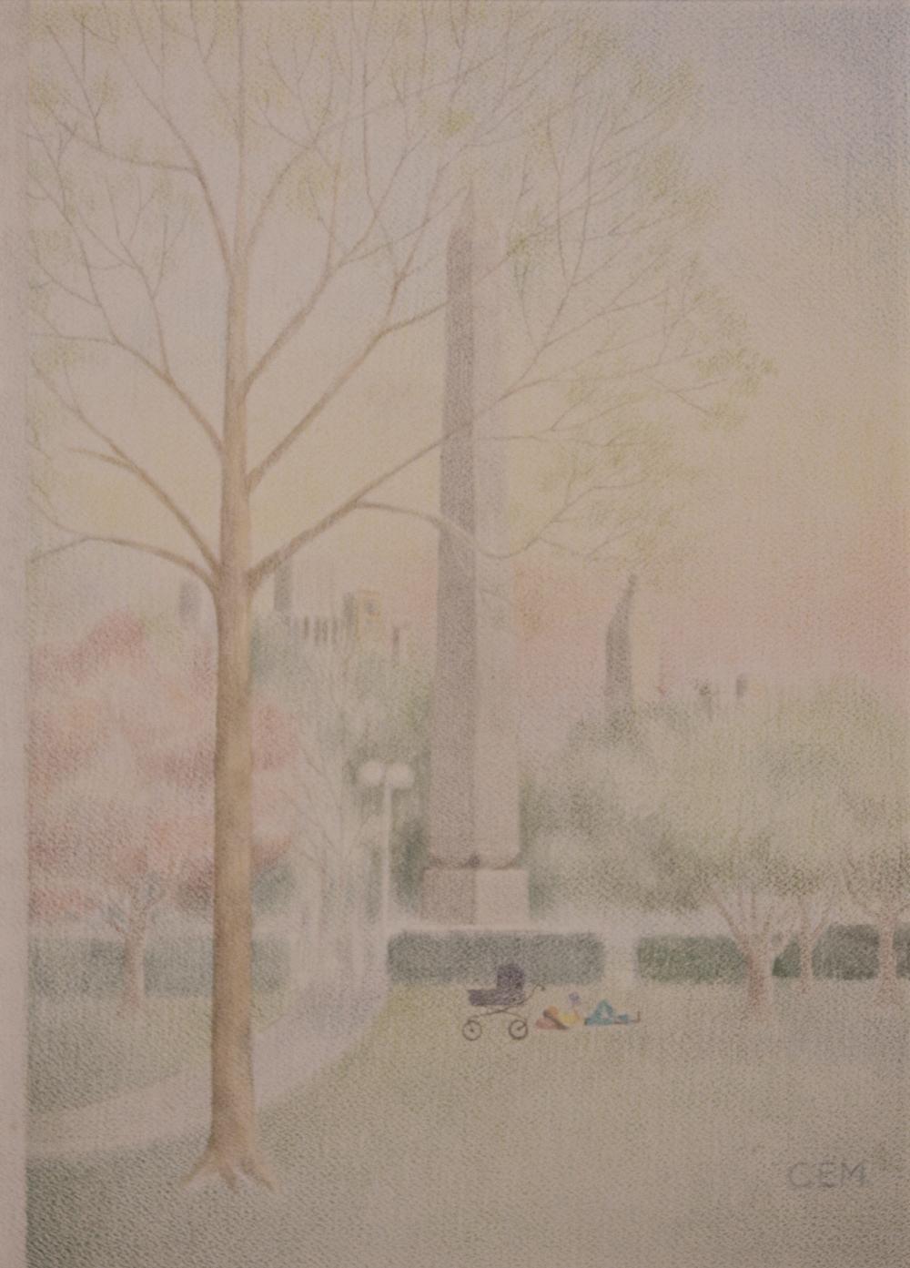 Charles E. Martin Obelisk 2