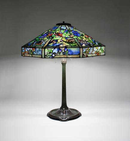Tiffany Studios <br> October Nightshade Table Lamp 1