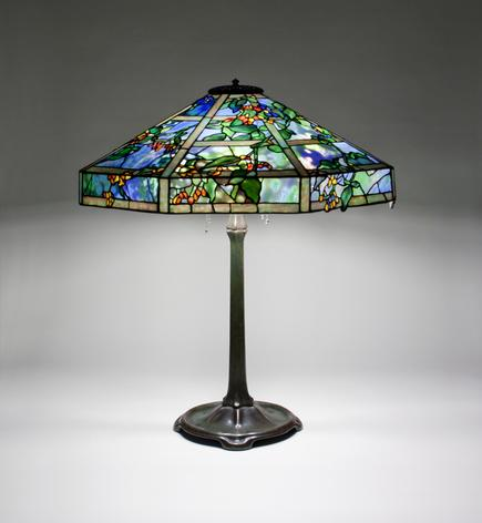 Tiffany Studios <br> October Nightshade Table Lamp 2