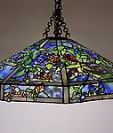 Tiffany Studios <br>October Night Chandelier