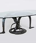 Albert Paley <br> Forged Steel Dining Table