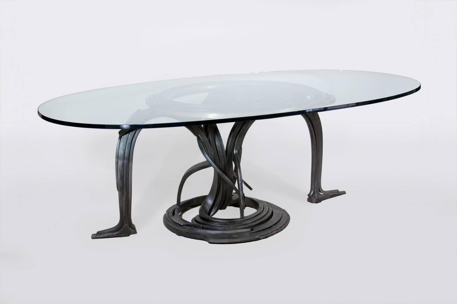 Albert Paley  Forged Steel Dining Table 1