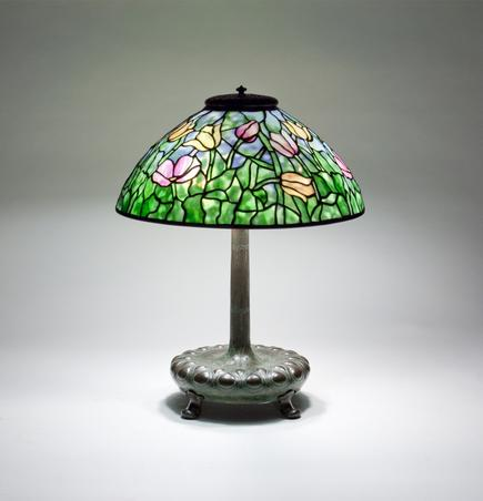 Tiffany Studios U003cbru003e Tulip Table Lamp 1