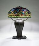 Tiffany Studios <br> Rare Peacock Table Lamp