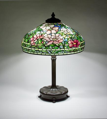 Tiffany Studios  Peony Table Lamp 1