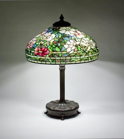 Tiffany Studios  Peony Table Lamp 2