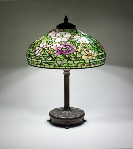 Tiffany Studios  Peony Table Lamp 3