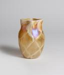 Tiffany Favrile Glass  Quilted Iridescent Vase