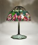 Tiffany Studios <br> Rare <i>Lotus </i> Lamp