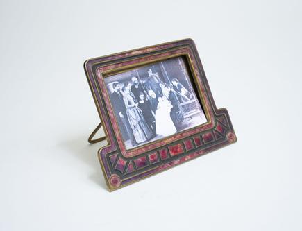 Louis C. Tiffany Furnaces   Art Deco  Calendar Frame 1