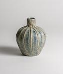 Tiffany Favrile Glass  Rare Ribbed Agate  Vase