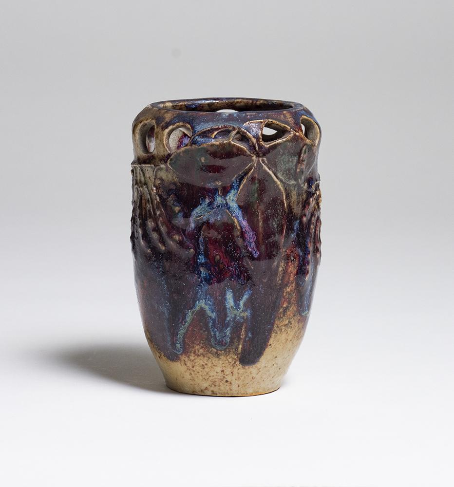 Robalbhen  Reticulated Pea Pod Vase 1