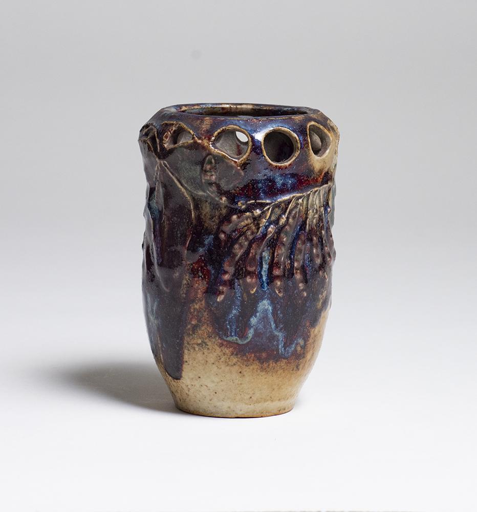 Robalbhen  Reticulated Pea Pod Vase 2