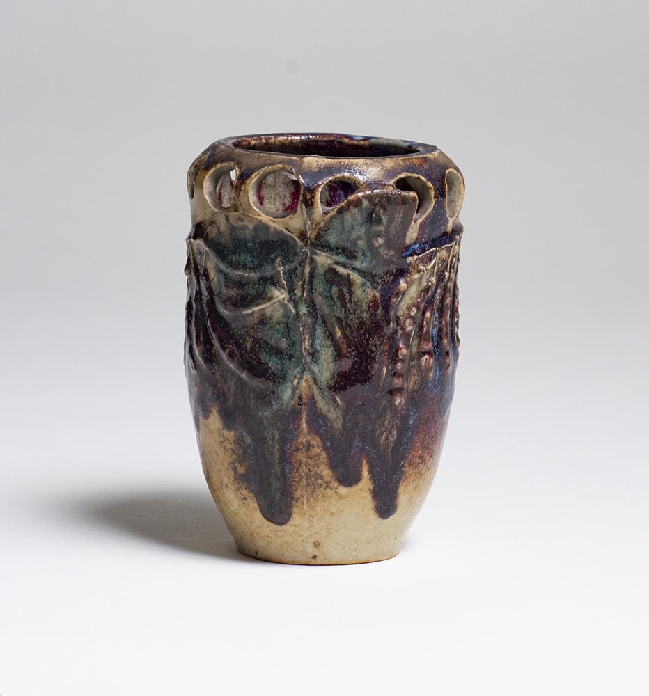 Robalbhen  Reticulated Pea Pod Vase 3