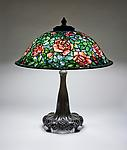 Tiffany Studios  Rose Lamp