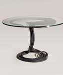 Albert Paley <br> Round Forged Steel Dining Table