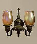Tiffany Studios <br> Set of Four Double Sconces
