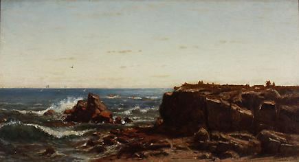Louis C. Tiffany &lt;br&gt;&lt;i&gt; Seascape&lt;/i&gt; 1