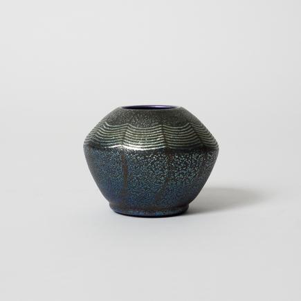 Tiffany Favrile Glass <br> Cabinet Cypriote Vase 1