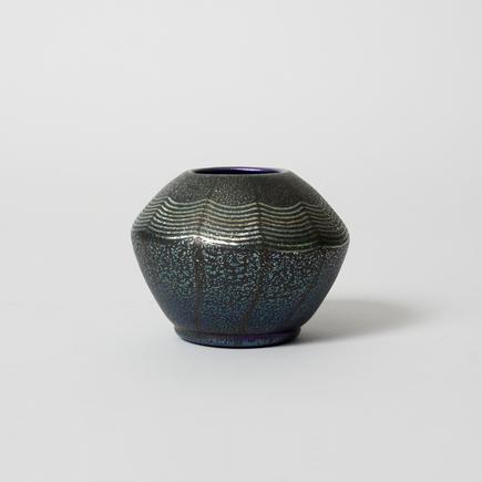 Tiffany Favrile Glass <br> Cabinet Cypriote Vase 2