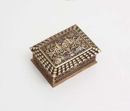 Tiffany Studios <br> 'Spanish' Utility Box 1