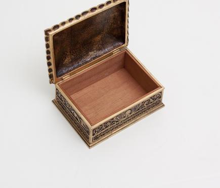 Tiffany Studios <br> 'Spanish' Utility Box 2