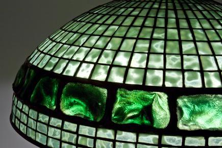Tiffany Studios   Turtle Back  Floor Lamp 2
