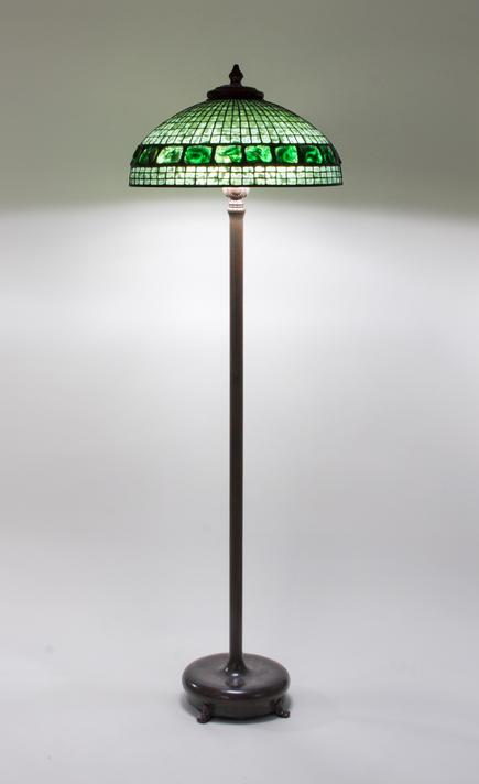 Tiffany Studios <br> Turtle Back Floor Lamp 1