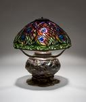 Tiffany Studios <br> Peacock Table Lamp