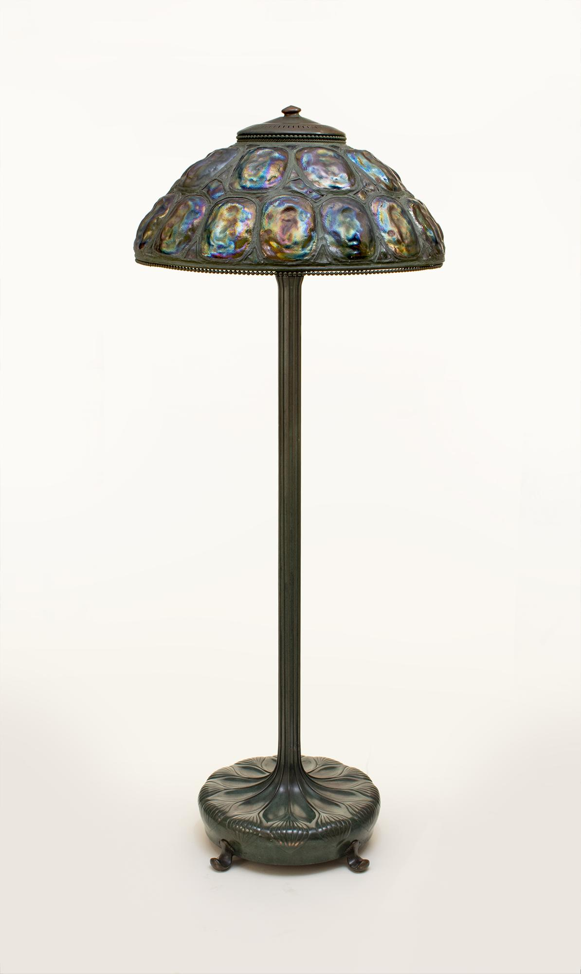Tiffany Studios Turtle Back Floor Lamp 2