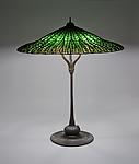 Tiffany Studios <br> Lotus Table Lamp