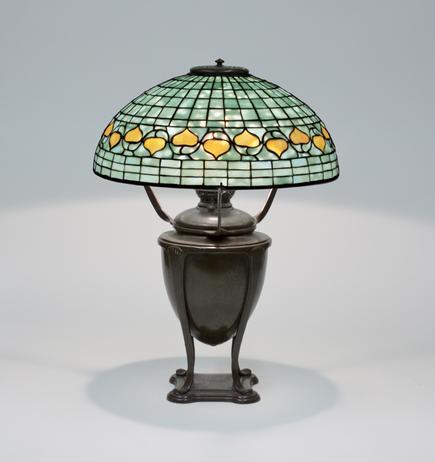 Tiffany Studios <br> Acorn Table Lamp 1