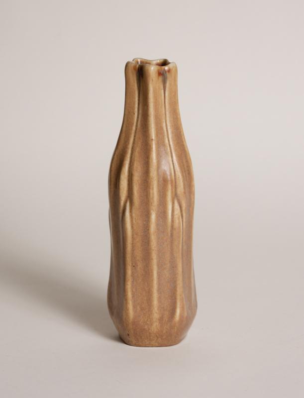Tiffany Studios  Favrile Pottery  Vegetal Vase 1