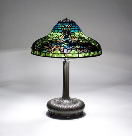 Tiffany Studios <br> Rare Bird Lamp 2